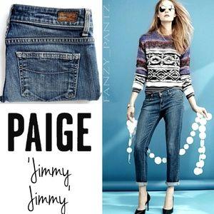 Paige denim Jimmy Jimmy boyfriend jeans 25 x 31 D8